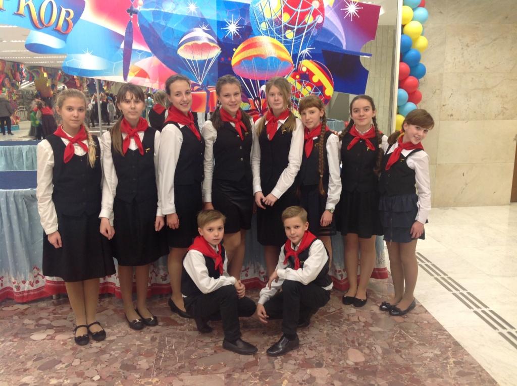 Тульская группа Детского хора России на концерте в Государственном Кремлевском дворце.JPG